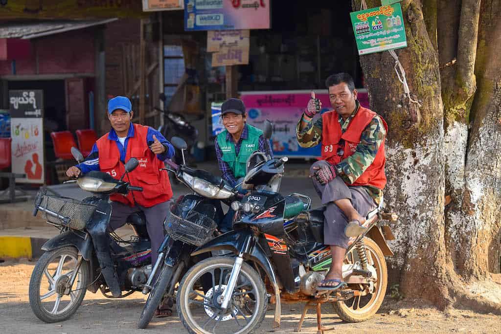 นิสสัน พม่า
