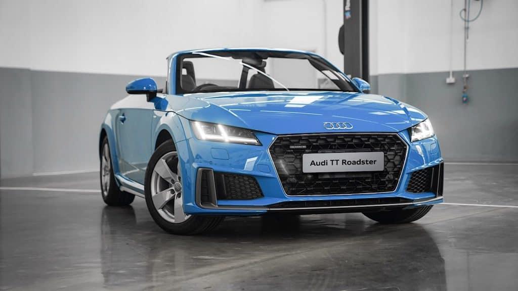 Audi TT คูเป้