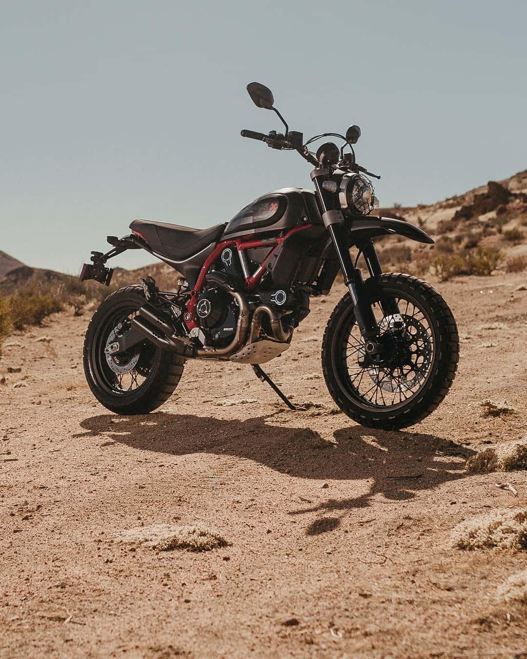 """""""Scrambler Ducati Desert Sled Fasthouse"""""""